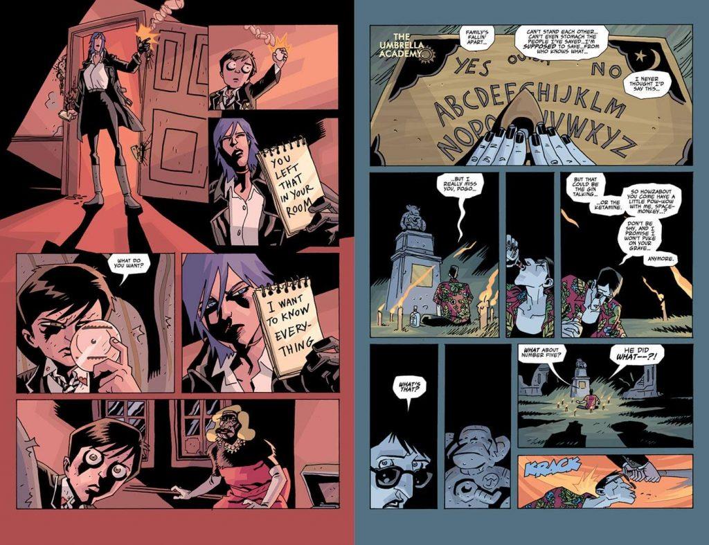 the umbrella academy comic en español