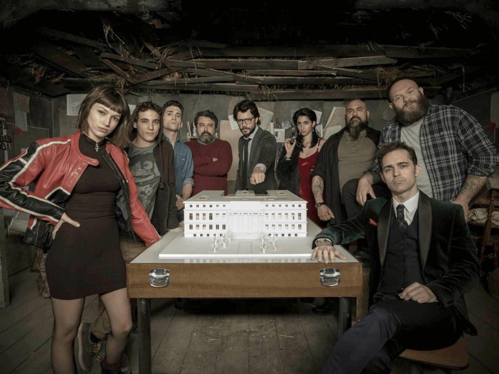 la casa de papel tercera temporada