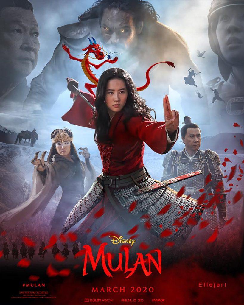 poster mulan pelicula 2020
