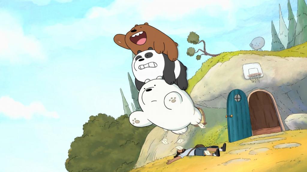 escandalosos la pelicula pardo polar y panda