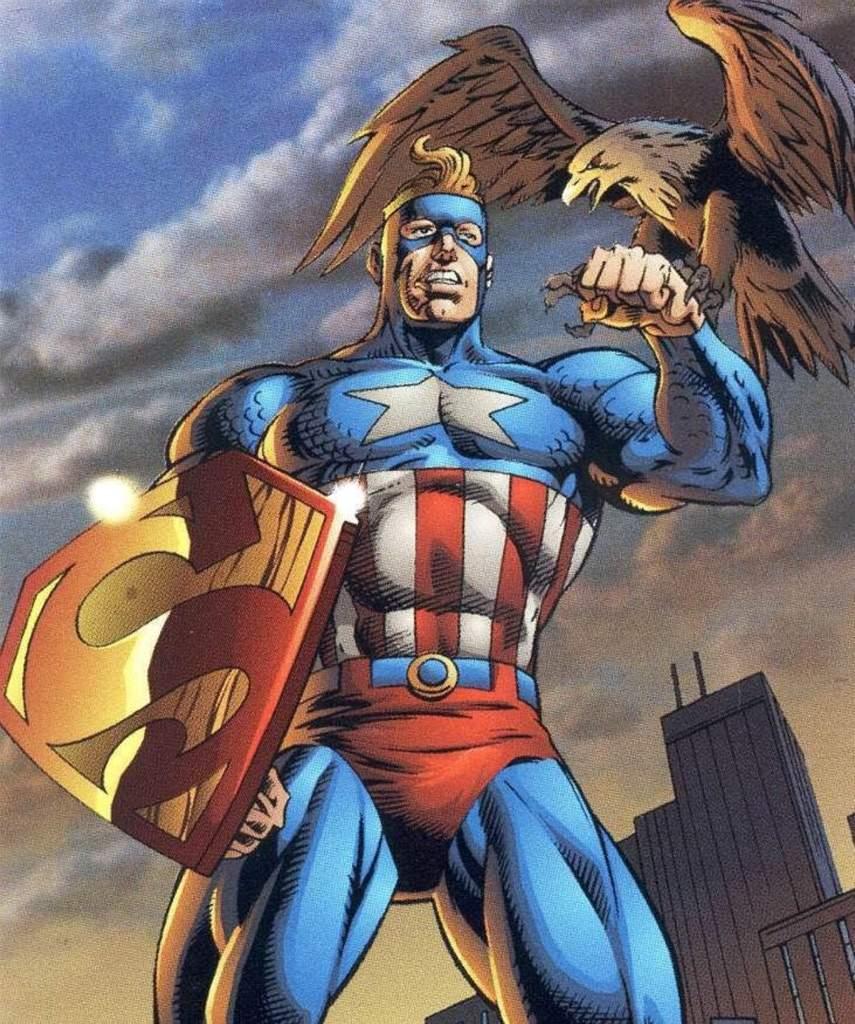 superman y capitan america se fusionan