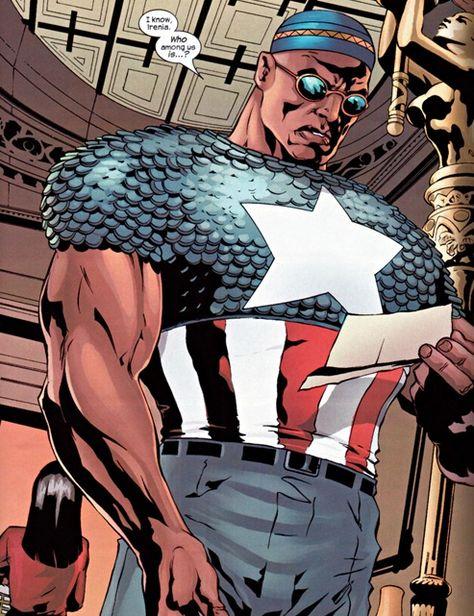 capitán américa negro