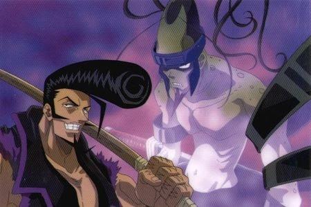 ryu y su espada de madera