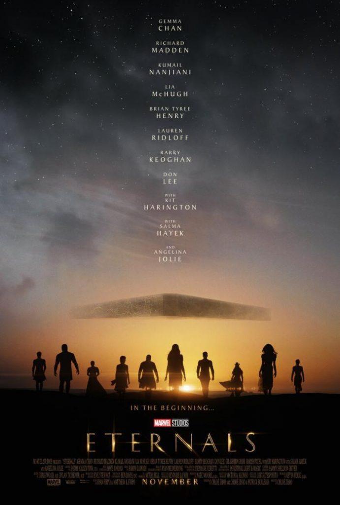 eternals marvel poster