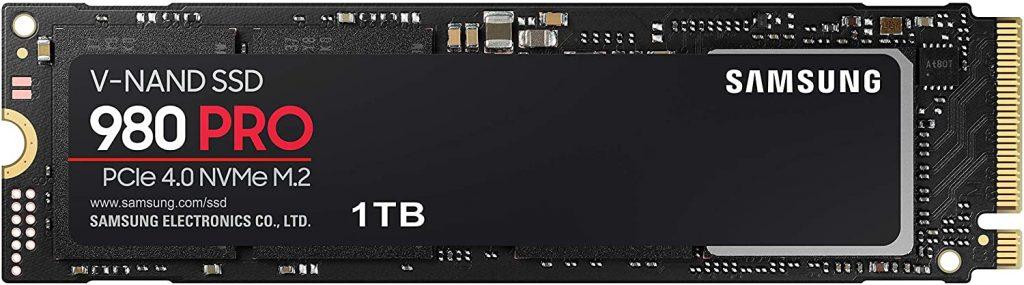 SSDs PCIe NVMe Samsung 970 Pro