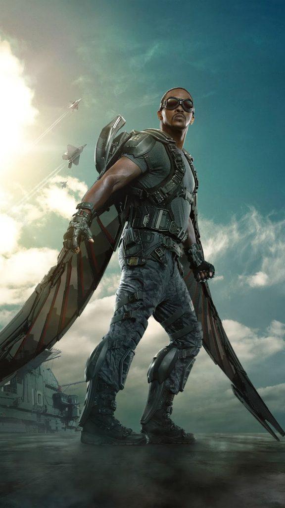 series de marvel falcon y el soldado de invierno