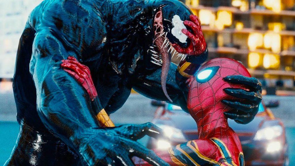crsossover venom y spiderman