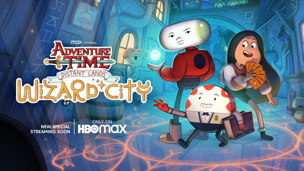 hora de aventura wizard city