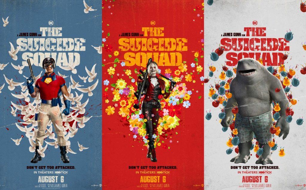 el escuadrón suicida 2 posters