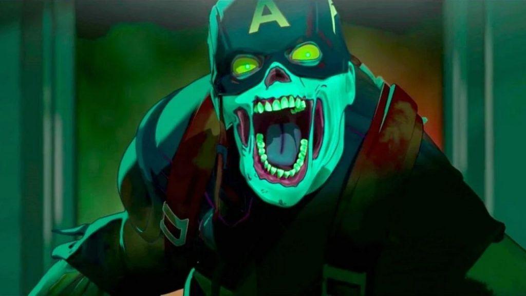 what if capitan america zombie