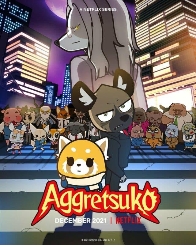 aggretsuko-temporada 4 poster