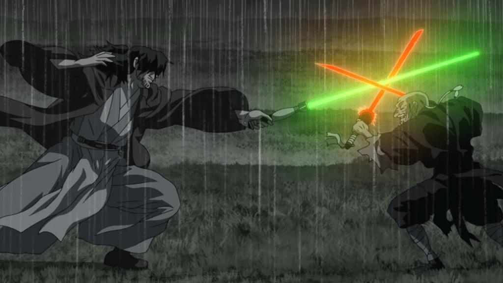 star wars visions el duelo